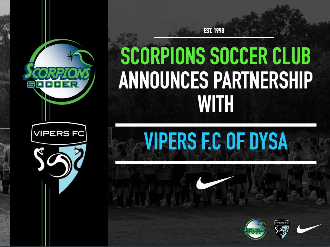 Scorpions Announce Partnership with Vipers F.C.